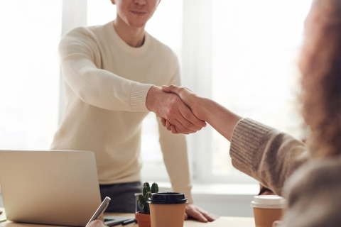 colloquio di lavoro nelle organizzazioni